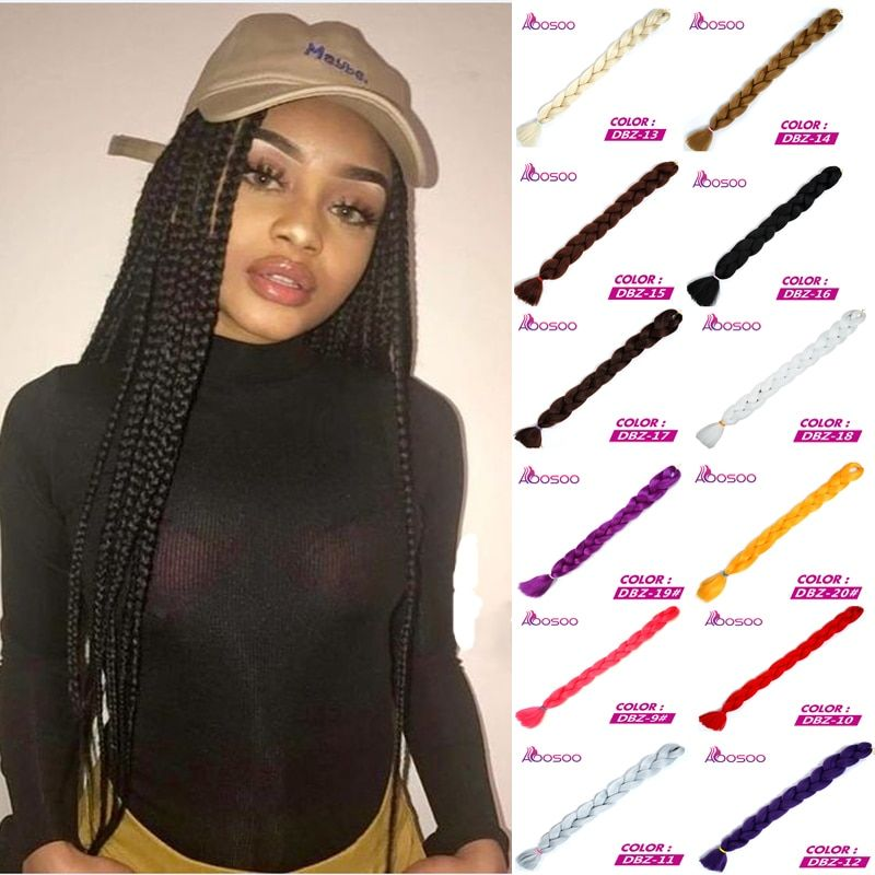 165g/pack Jumbo Braid Hair Crotchet Braids Pure Color Hair Expression synthetic Braiding Hair for black high temperature fiber    !!!Attention!!! valid discount 28.95% buy now for: 4.05$ #crotchetbraids