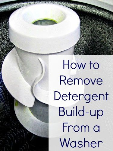How to Remove Detergent Build Up in a Washing Machine ...