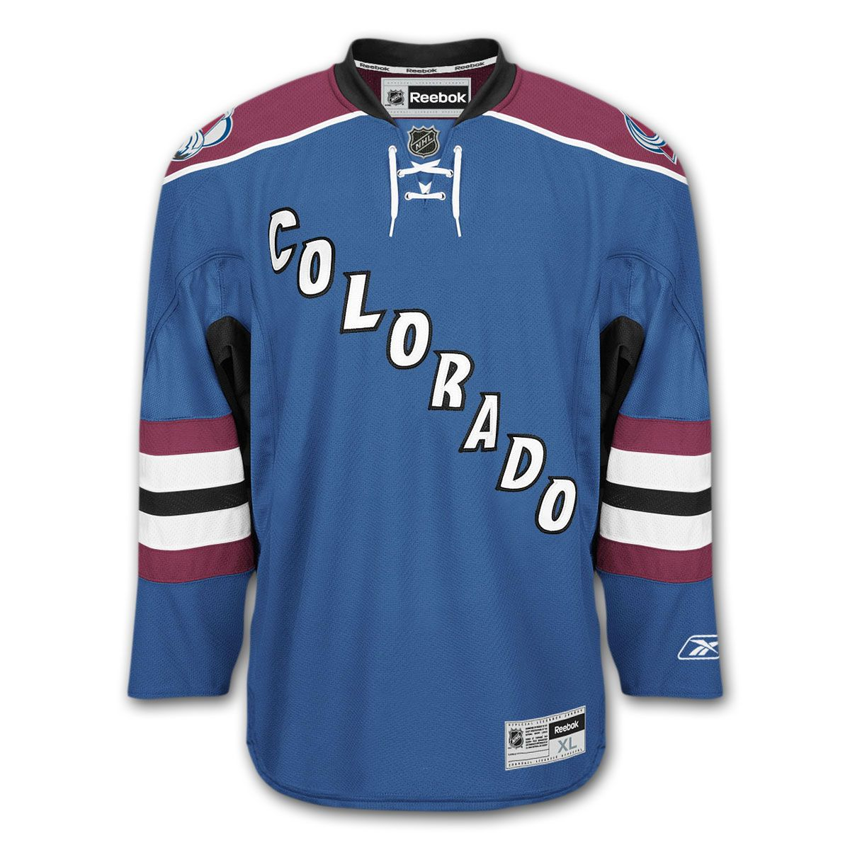 6d429965e0b sale avsjerseyhistory a62d3 87509  promo code colorado avalanche reebok  premier youth replica alternate nhl hockey jersey 0454a 2b8f7
