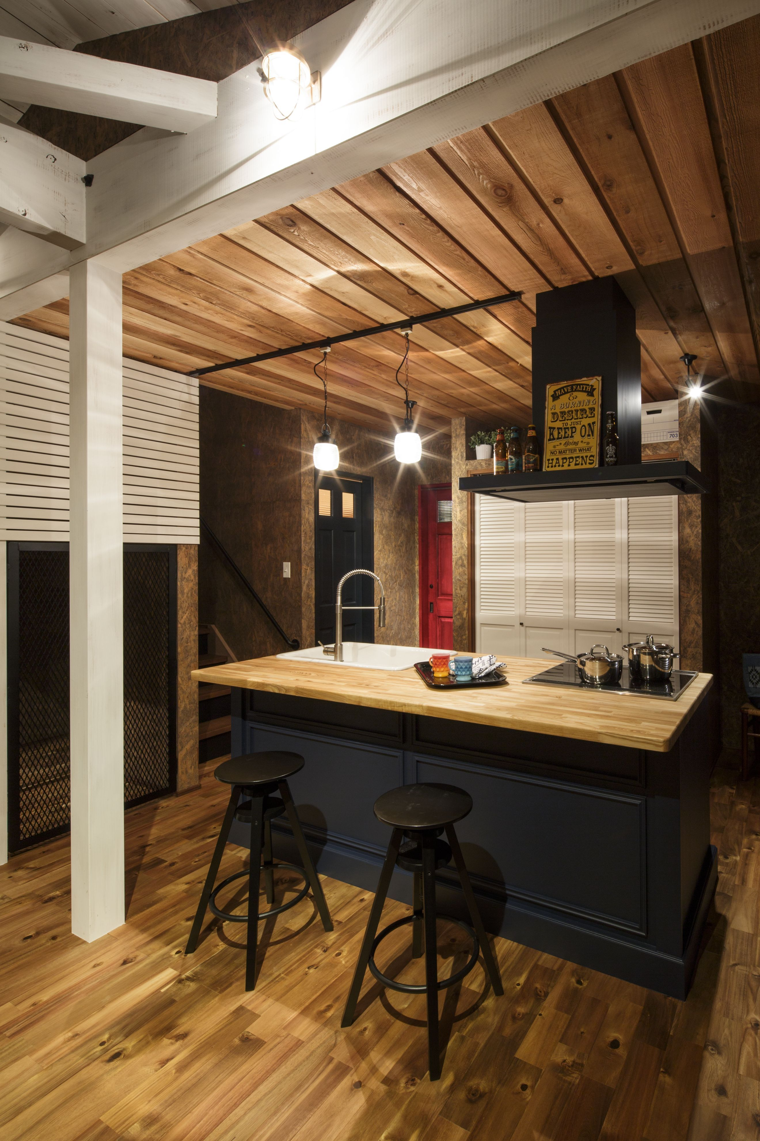 アイランドキッチン キッチンインテリアデザイン リビング キッチン
