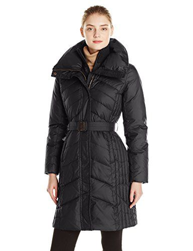 a18d5afe996 Marc New York by Andrew Marc Women s Misty Long Belted Down Coat ...