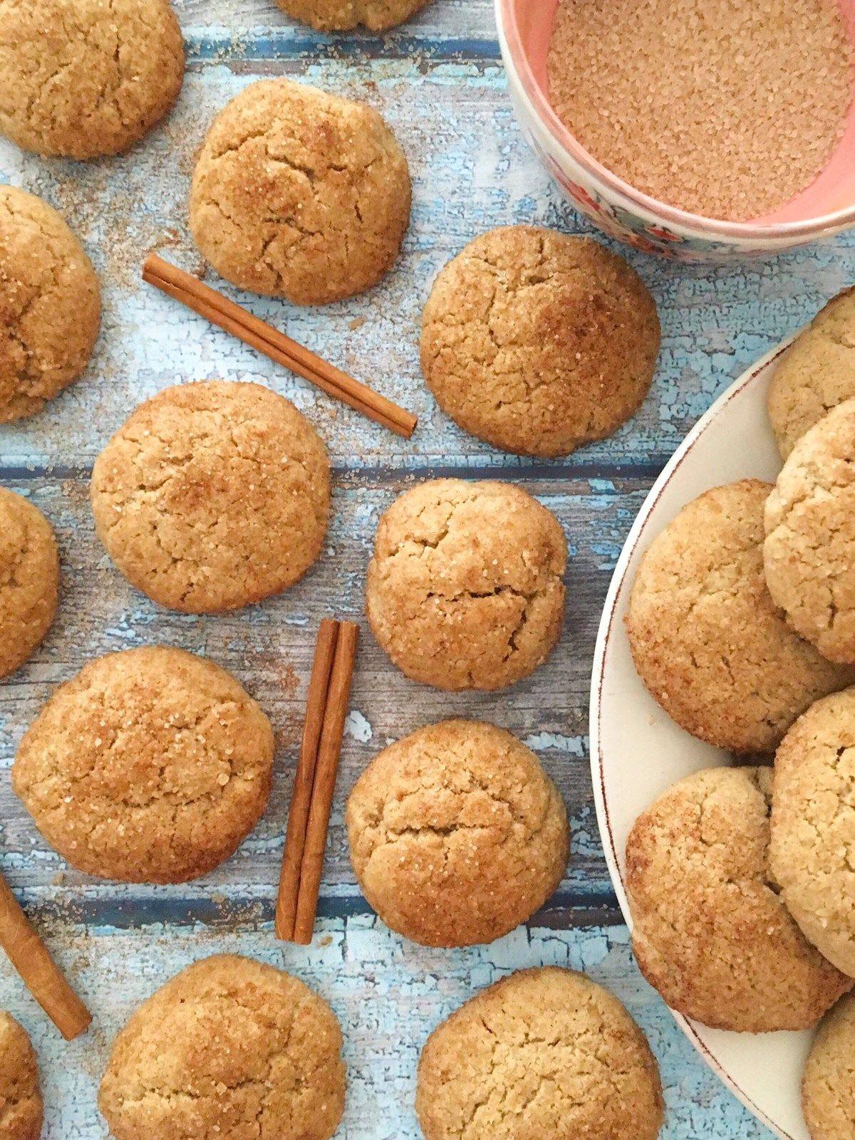 Gluten free snickerdoodle cookies recipe gluten free