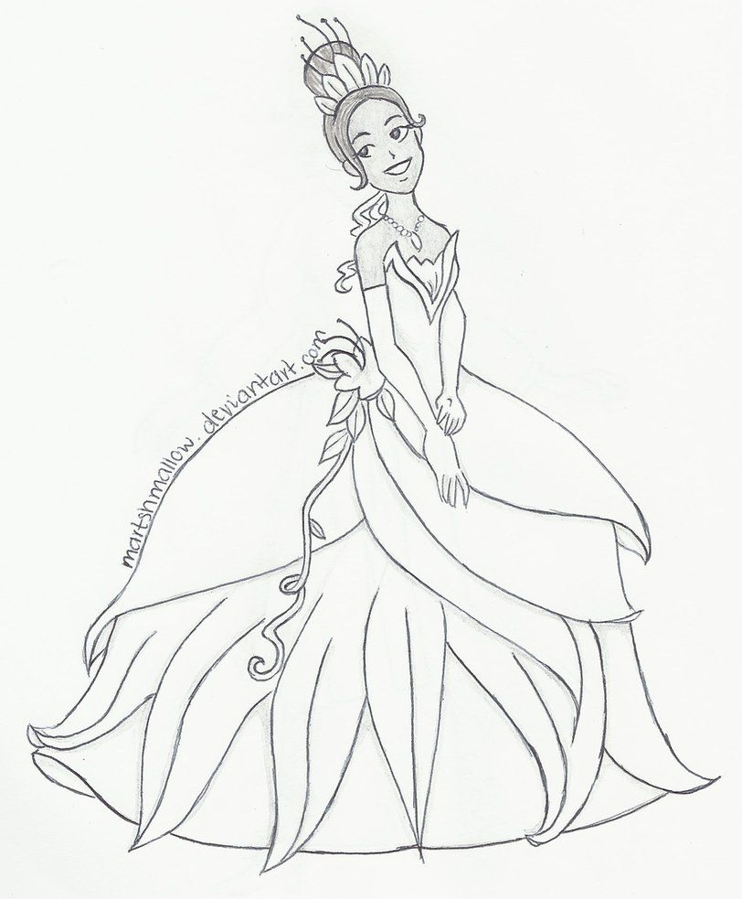 Tiana and Naveen Coloring Pages | deviantART: More Like Tiana the ...