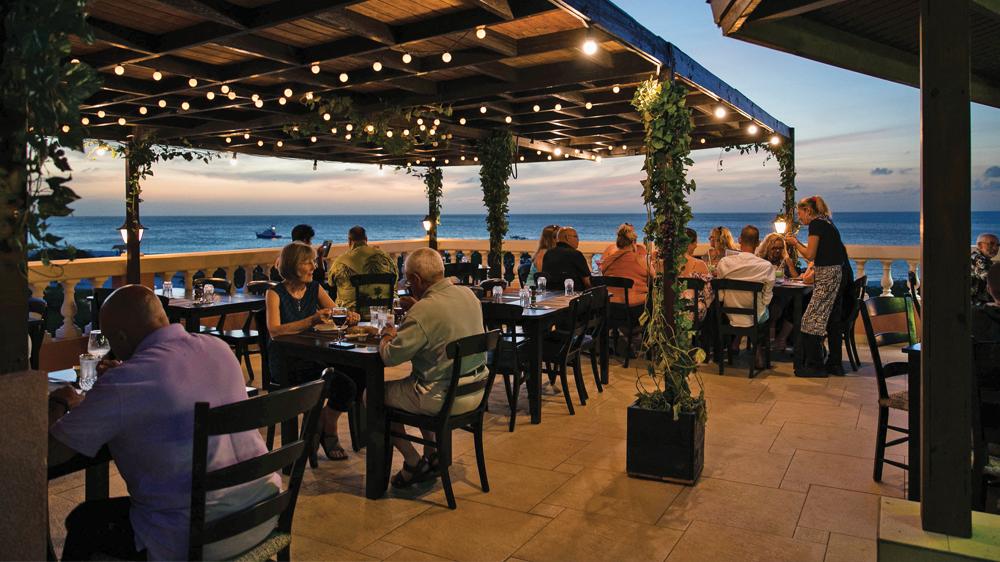 Terrazza Italiana Aruba Restaurants Creamy Garlic Sauce