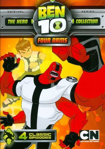 Ben 10 Four Arms Dvd Four Arms Ben 10 Cool Things To Buy