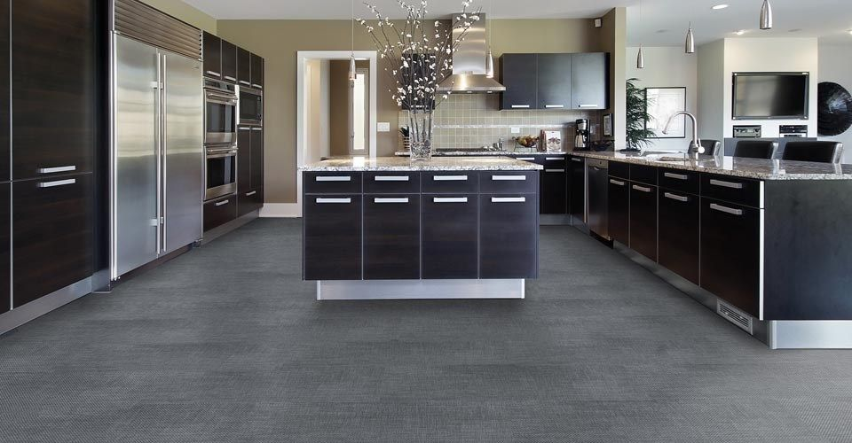 Woven Floover Specially Designed On Waterproof Board Suitable For - Wet area flooring options