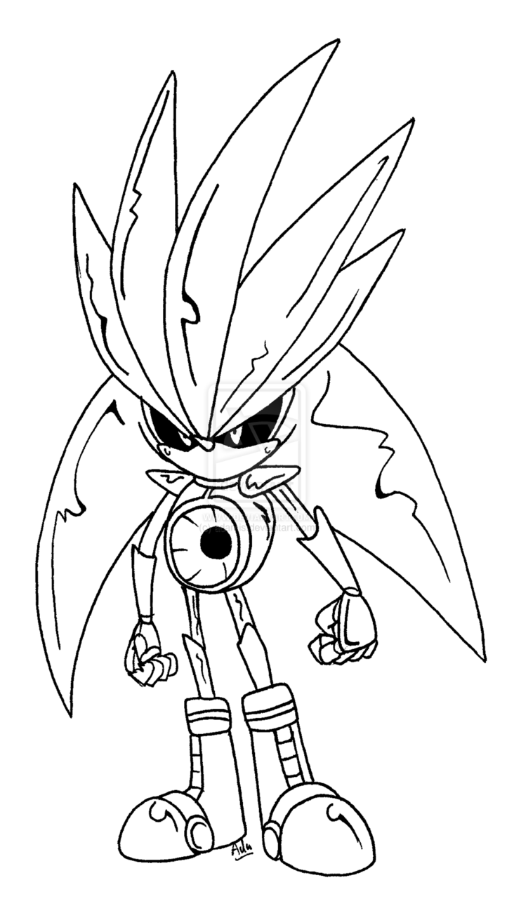 Sonic Forces Infinite Coloring Pages Tips