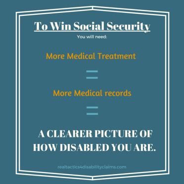 Medical Treatment Equals More Medical Records Social Security
