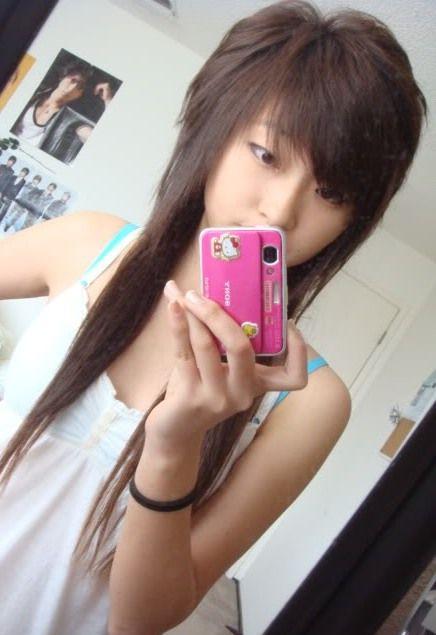 haircut Asian scene
