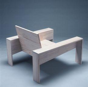 Sill n madera exterior muebles con naturaleza - Sillon madera exterior ...