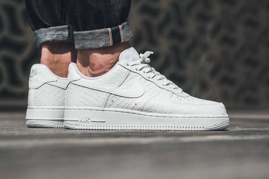 The Nike Air Force 1 Dons a Textured