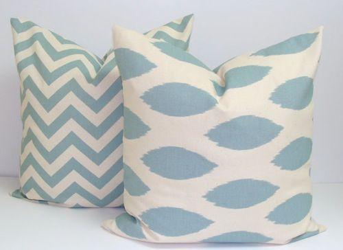 Chevron Stripe & Ikat Pillows from Elemen O Pillows