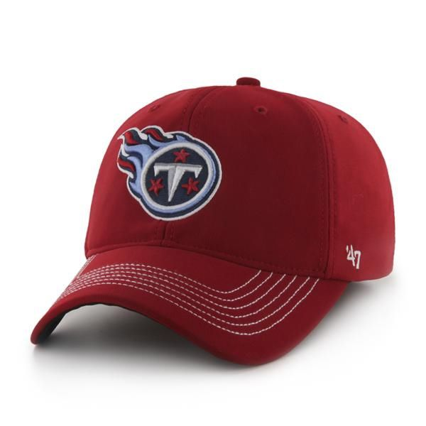 c44b47c30907cb ... where to buy tennessee titans game time closer red 47 brand stretch fit  hat afc35 864f6
