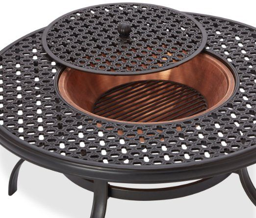 Superieur Wrought Iron Fire Pit Table