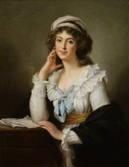 Self Portrait by Elisabeth Louise Vigée-LeBrun (circle of)    Oil on canvas, 99.1 x 80 cm Collection: The National Trust for Scotland.