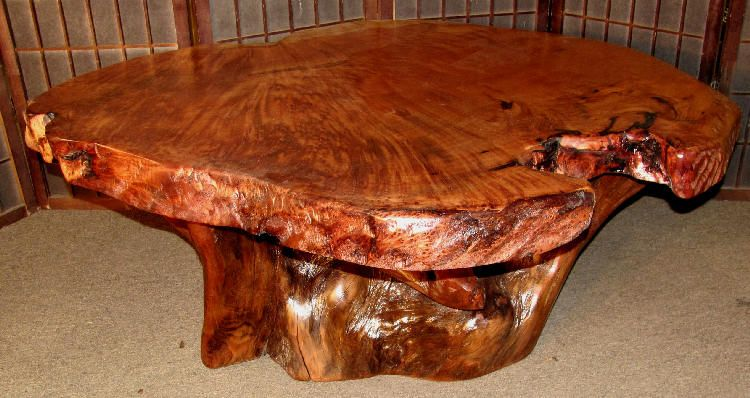 Prime Artisan Burlwood Berkeley Redwood Burl Coffee Table 30 Beutiful Home Inspiration Cosmmahrainfo
