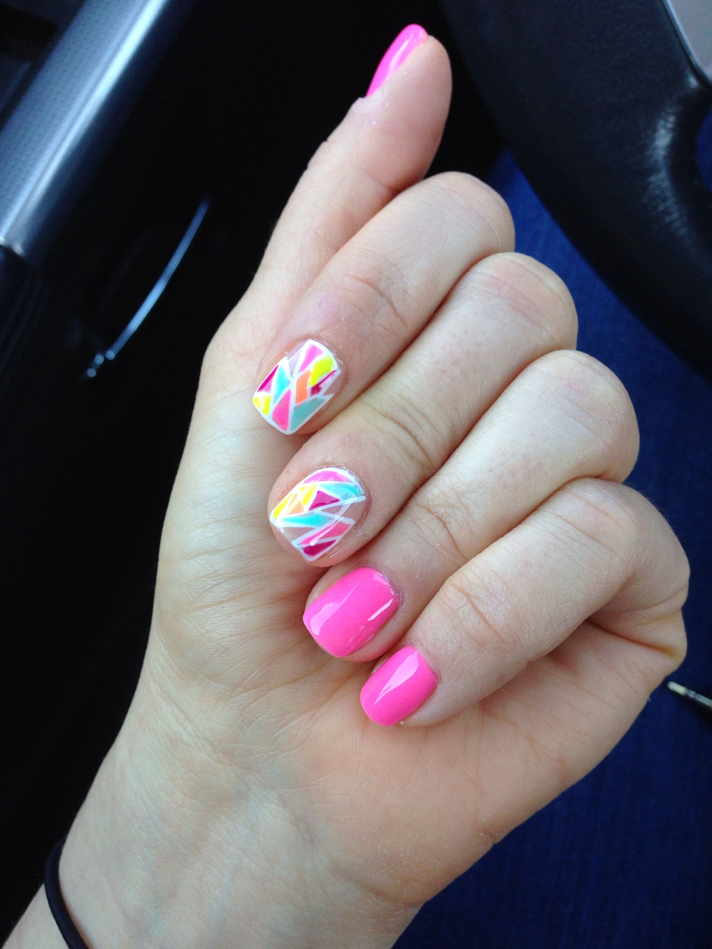 Mosaic Manicure from Diva Nails, Mineola, NY   Must Have Manicures ...