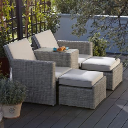 praslin rattan effect love seat sunlounger bq for all your home and garden supplies and advice on all the latest diy trends