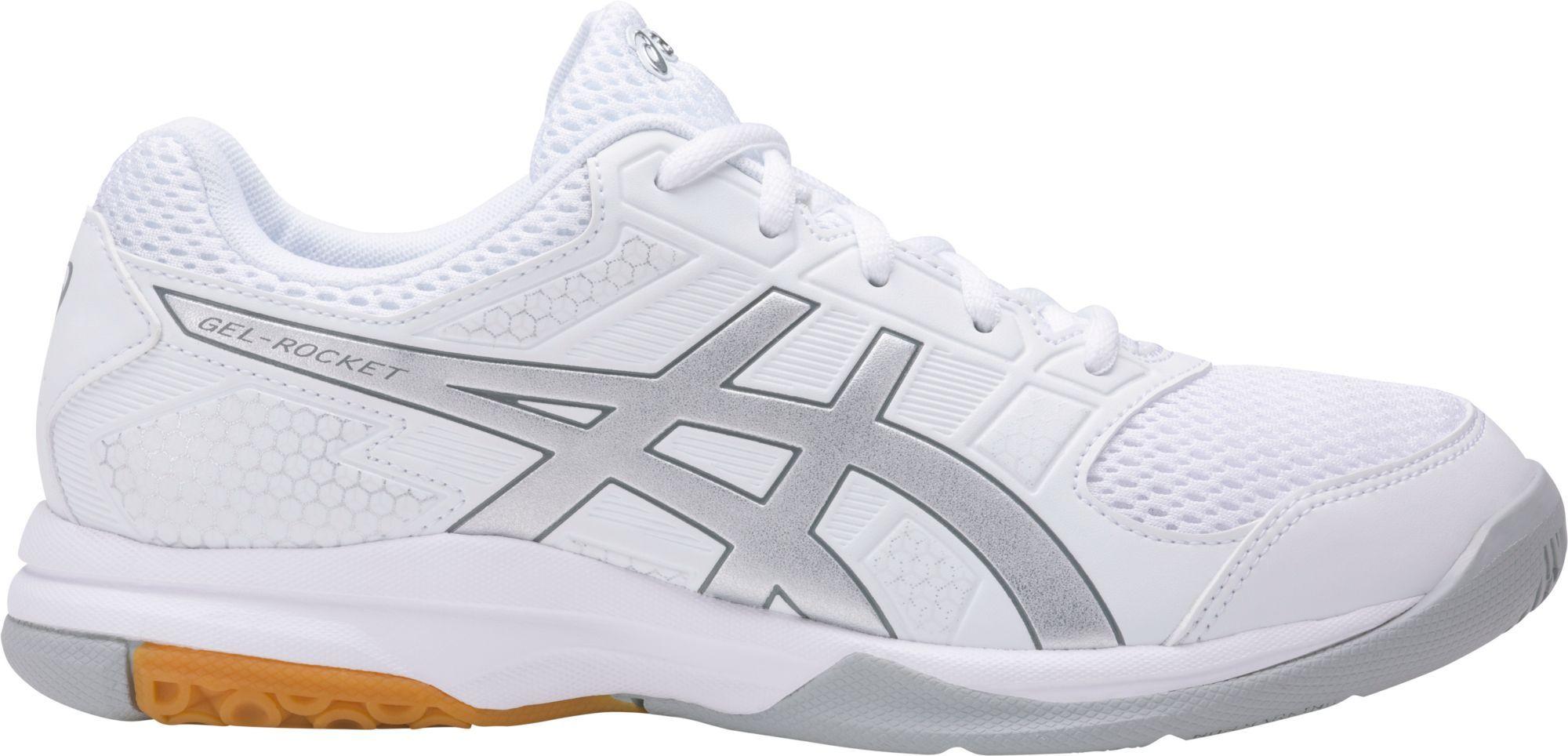 Asics Women S Gel Rocket 8 Volleyball Shoes Size 13 0 White Volleyball Shoes Asics Asics Women