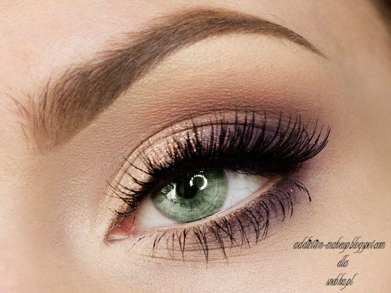 Oczy Zielone Makijaz Tutorial Szukaj W Google Makeup Pinterest