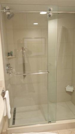 rolling shower door | decor home living room, shower doors