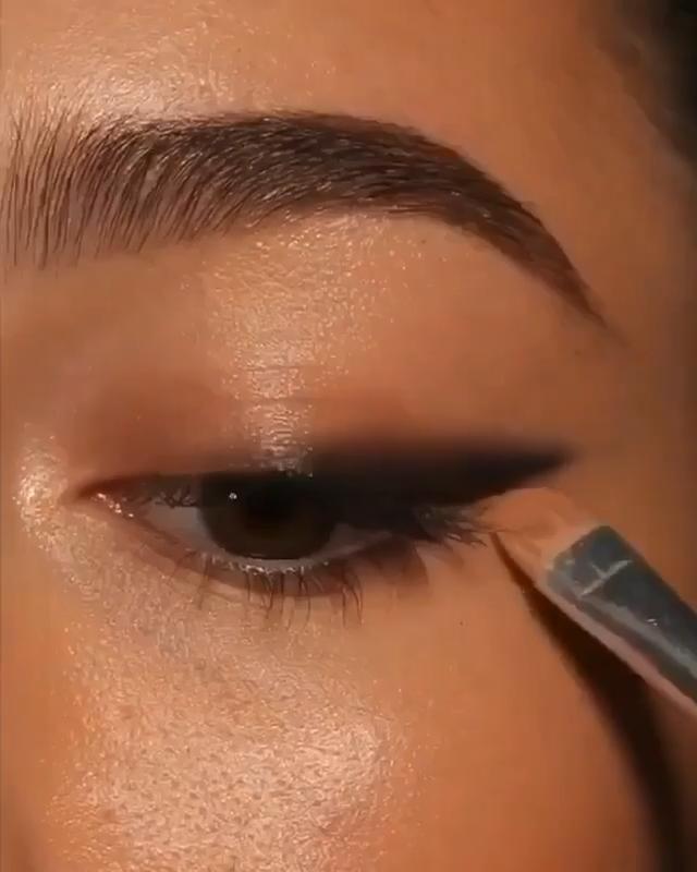 Eyeliner goals 🙌🏽🙌🏽😍😍