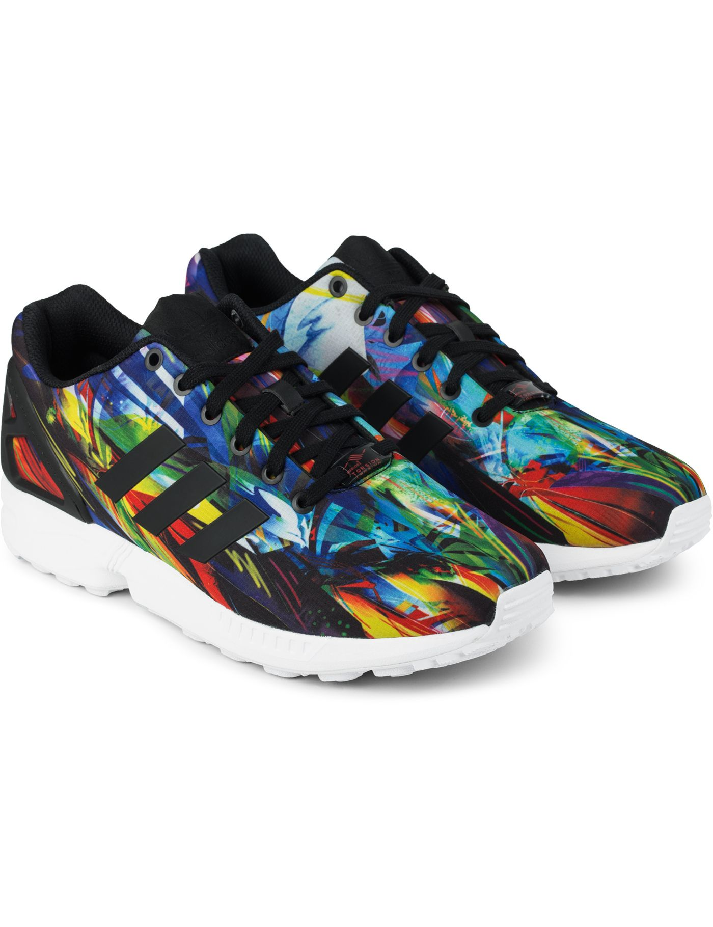finest selection 41f75 a0ba6 adidas Originals Multi AF6323 ZX FLUX Sneakers | HYPEBEAST ...