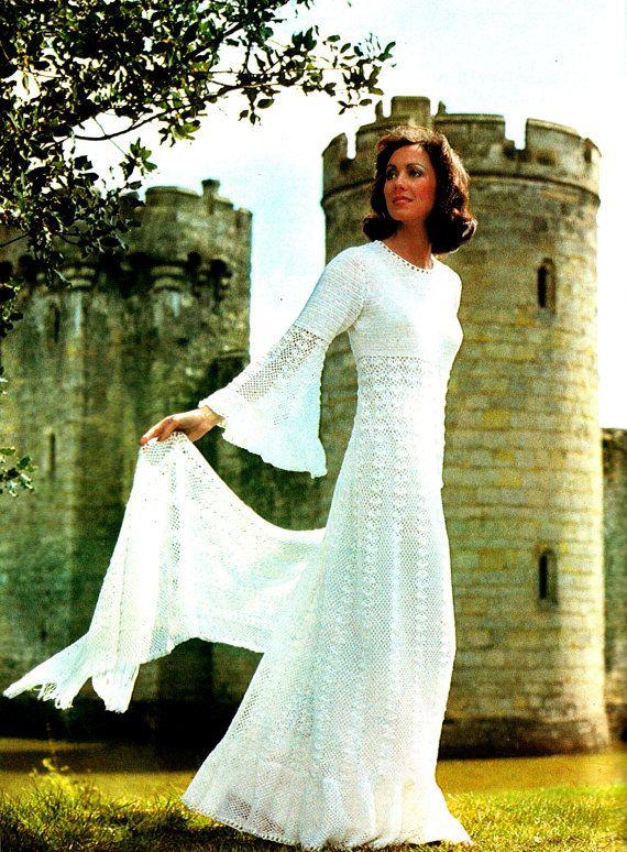 Descargar ahora Vintage Crochet patrón boda por Knittingknitch ...