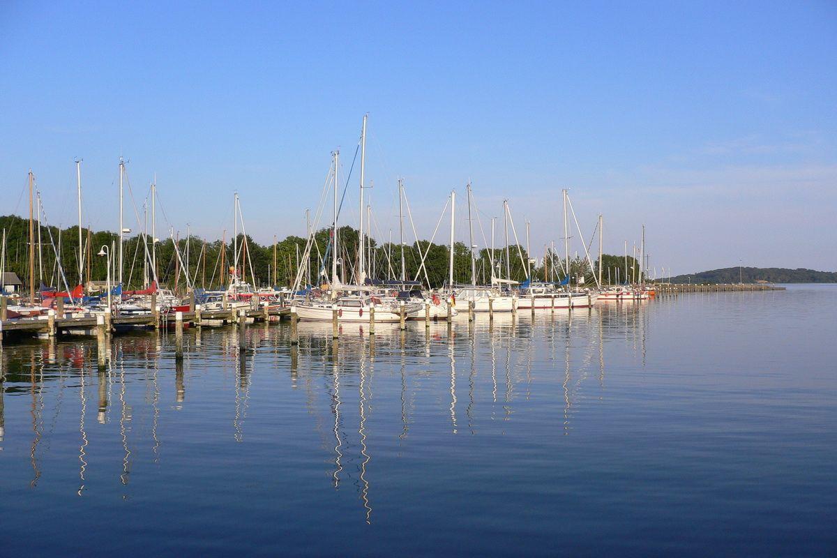 Lauterbacher Hafen auf Rügen