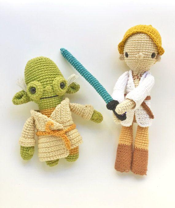 Luke Skywalker -Crochet pattern/amigurumi | Luke skywalker, Patrón ...