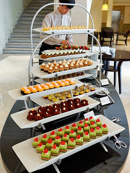 English afternoon high tea buffet @ L'Espresso, Goodwood Park Hotel