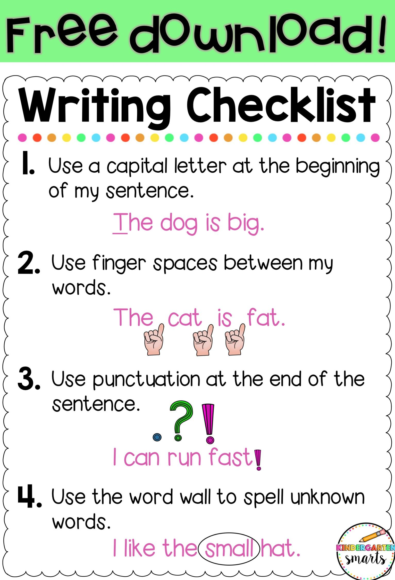 Writing Strategies for the Beginning of the School Year