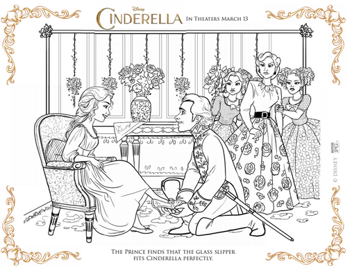 Cinderella Movie Coloring Sheets Several Styles Print Them Out 2015 Coloring Pages