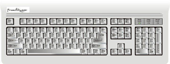 Keyboard Made In Corel Draw Draw Keyboard Audio Mixer