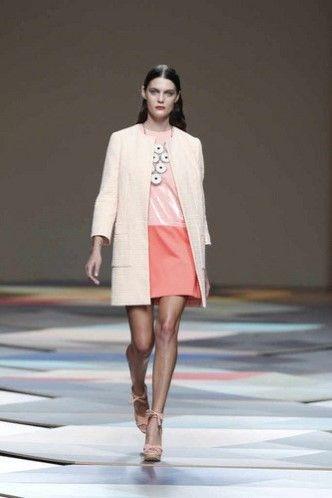 MB Fashion Week Madrid Primavera Verano 2014 Ailanto recupera el estilo sixties