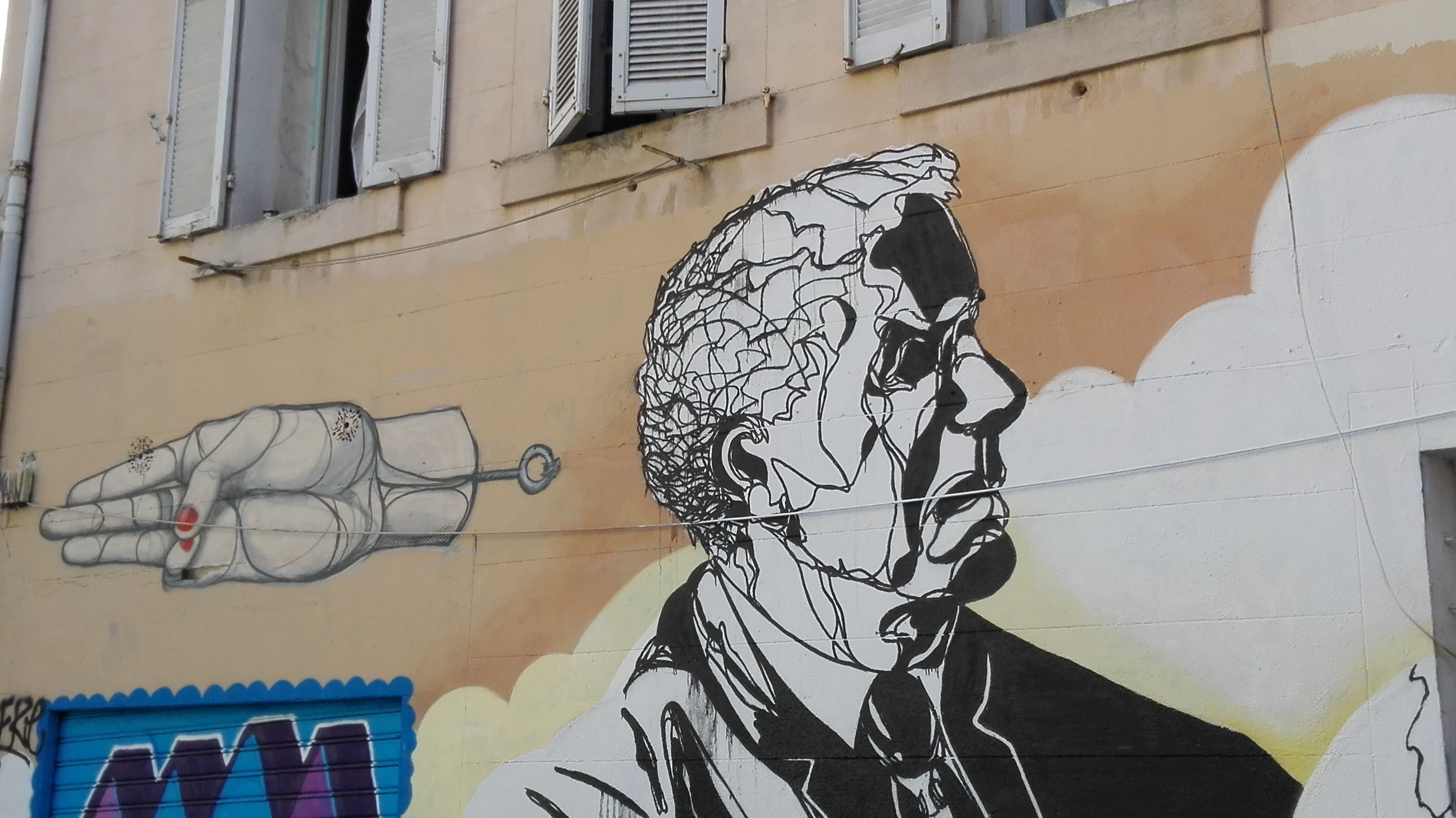 Marseille été 2016, quartier Cours Julien