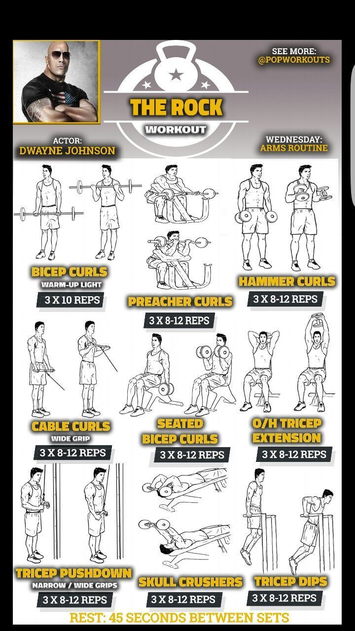 The Rock Workout Plan.   - Fitness workouts - #Fitness #plan #rock #workout #Workouts