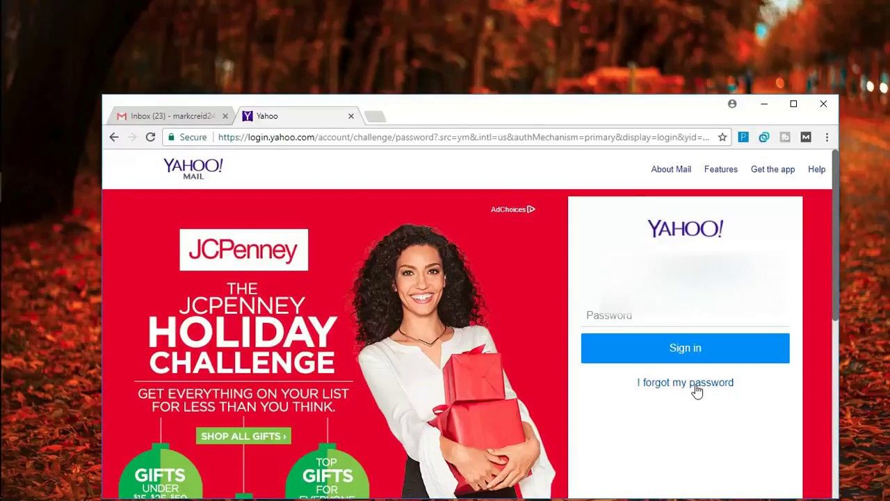 How to recover yahoo account password without phone number