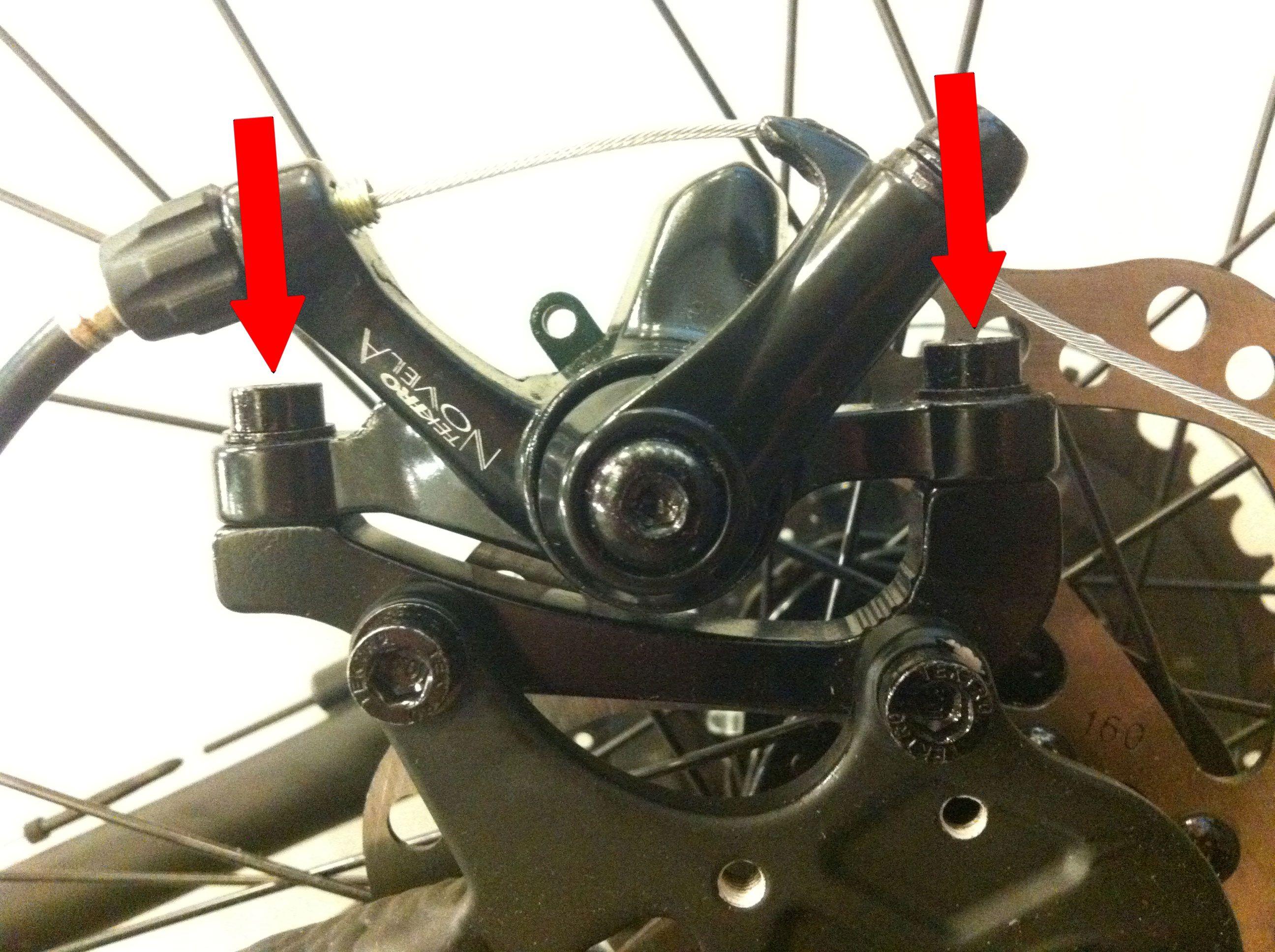 Adjusting Mechanical Disc Brakes Montague Bikes Bike Brakes Montague Bikes