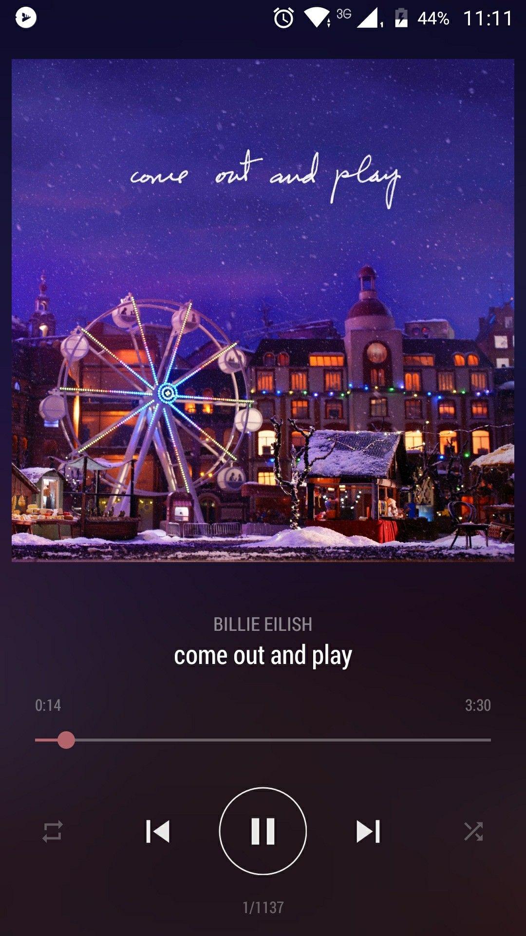 Billie Eilish Come Out And Play Billie Eilish Songs Billie
