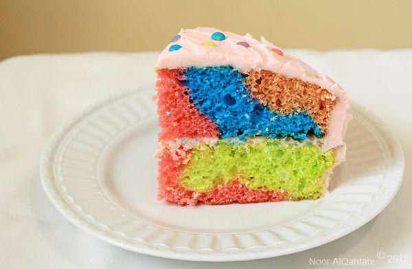 Rainbow Cake With Homemade Sprinkles Cake Rainbow Cake Fun Baking Recipes