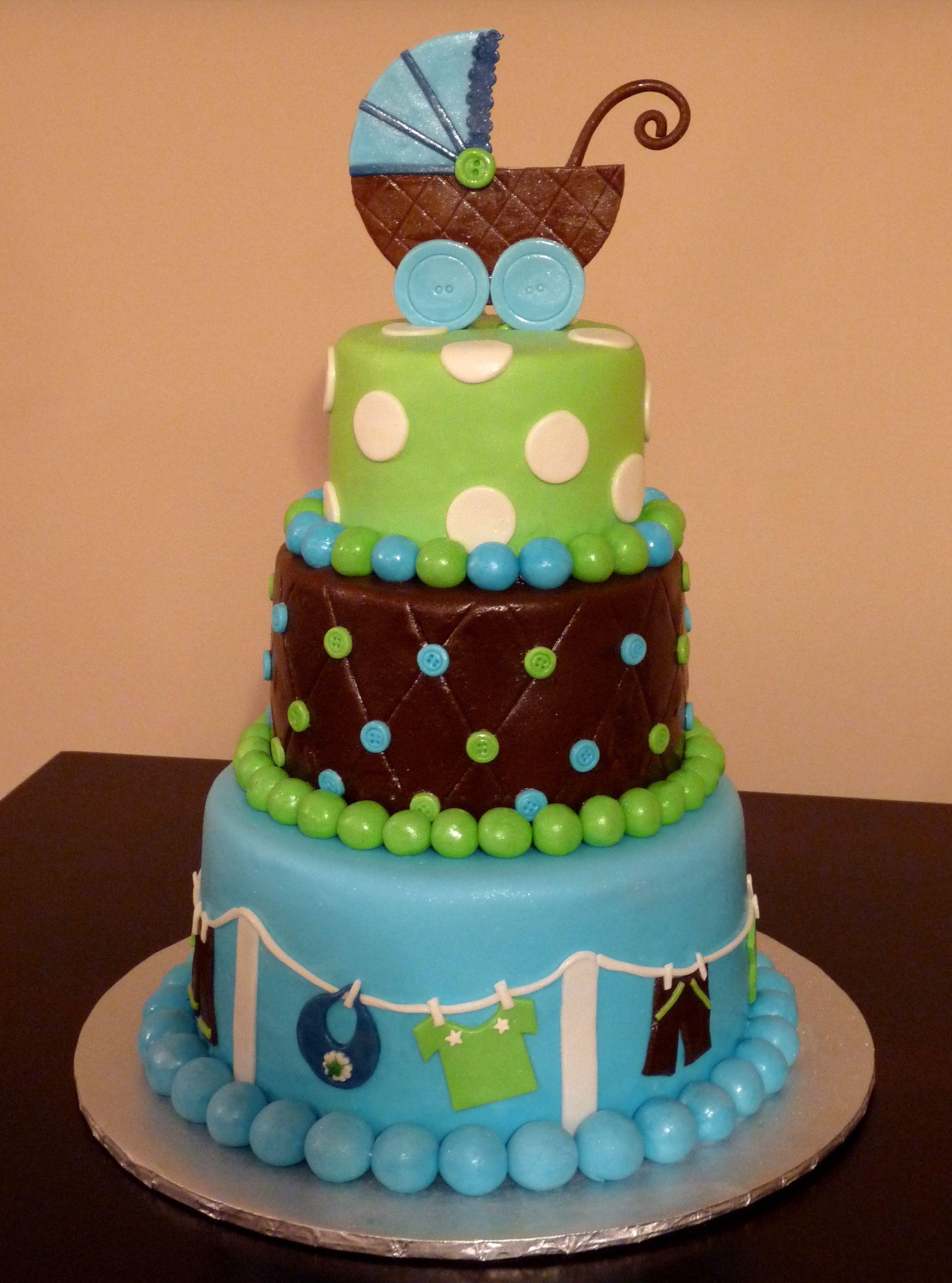 adorable baby shower cake  torten  Torten Tortenideen