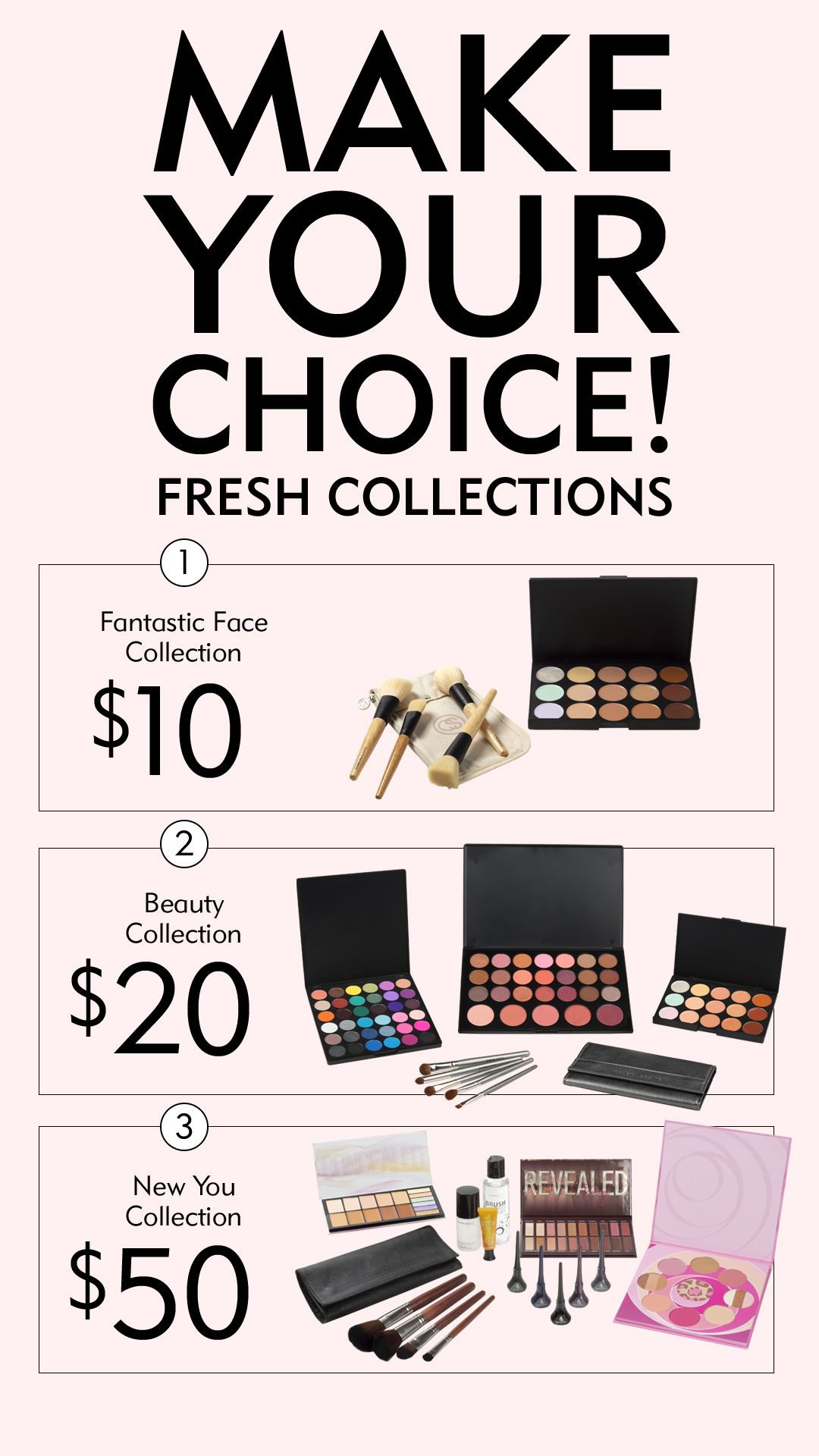 Make Your Choice 3 Fresh Collections Tell Us Your Fave 1 2