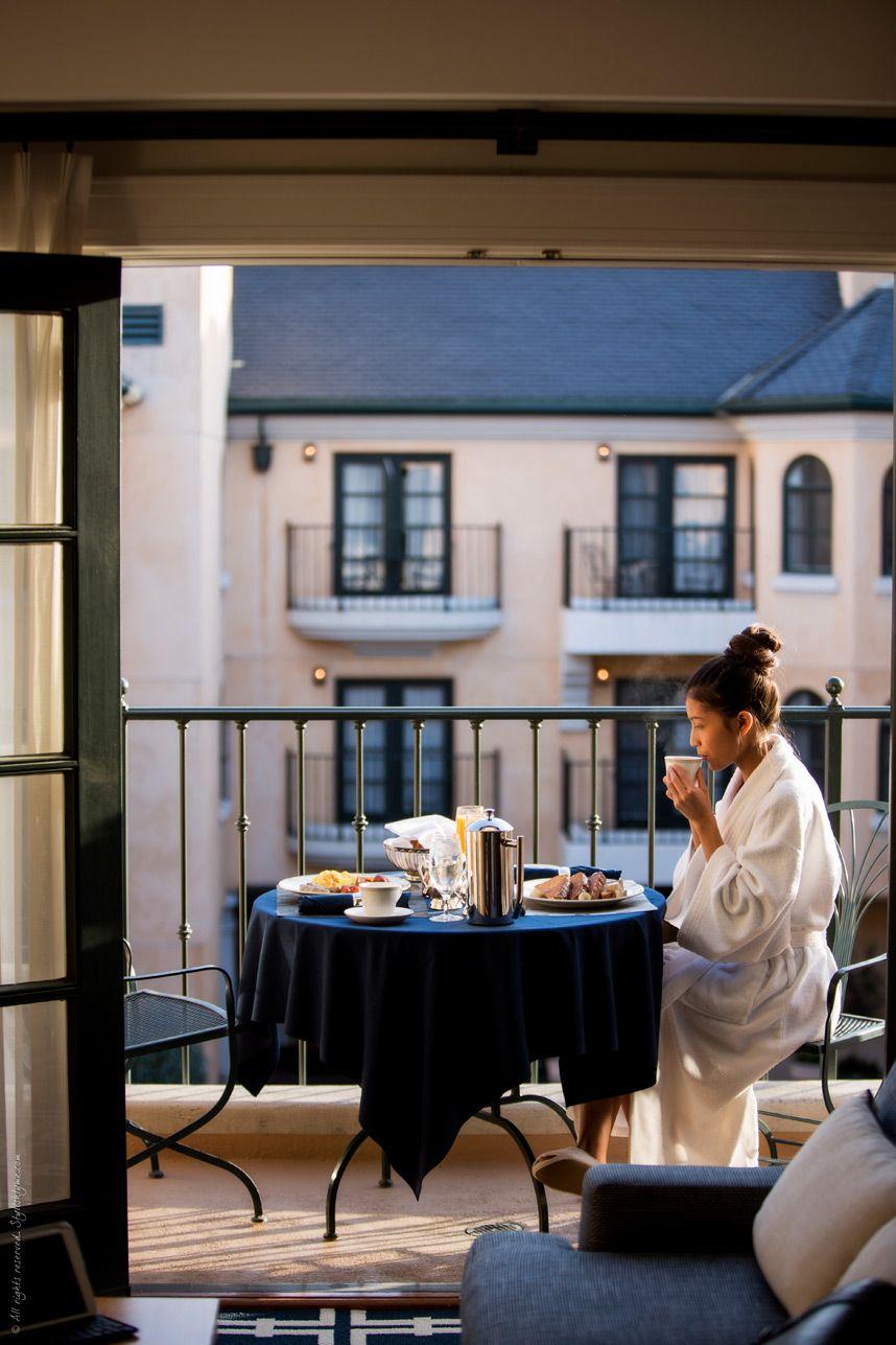 Breakfast room service sleep-stylishly garden court palo alto - Stylishlyme.com