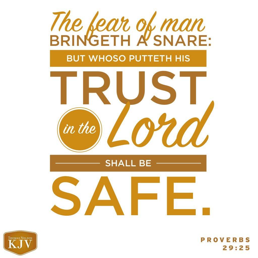Kjv verse of the day proverbs 2925 proverbs 29 joy