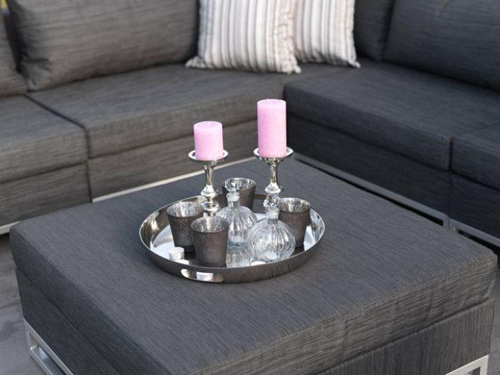ibiza loungegruppe aus textilene schwarz garten gartenm bel gartensofa gartenlounge. Black Bedroom Furniture Sets. Home Design Ideas