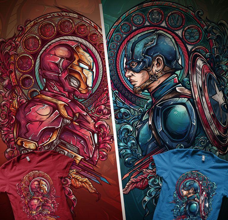 Você é Time Capitão América Ou Homem De Ferro?