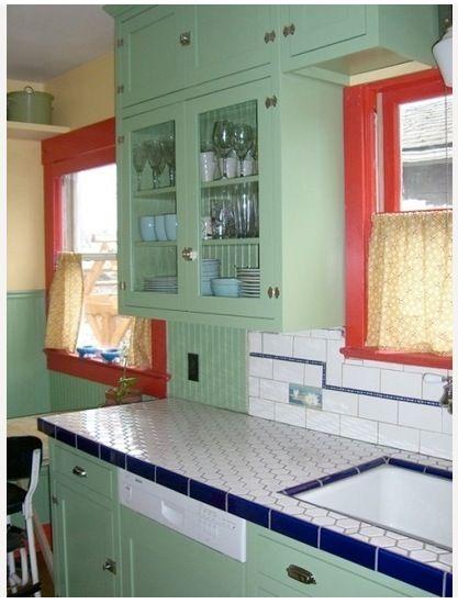 vintage kitchen Hannah Pinterest Window frames, Vintage