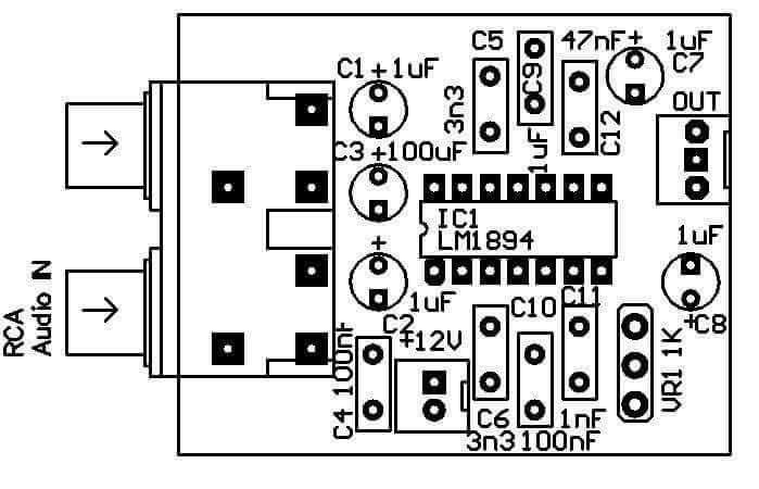 PCB Apex AX11 Audiophile t Circuit diagram and