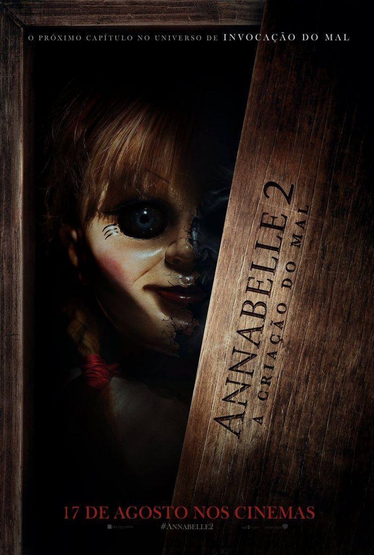 O Suspense Annabelle 2 A Criacao Do Mal Ganha Trailer E Poster